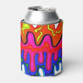 カラフルな粘着物のクーラーボックス 缶クーラー