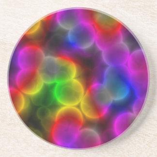 カラフルな細菌 コースター