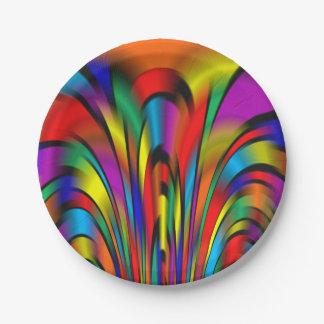 カラフルな統合の紙皿 ペーパープレート