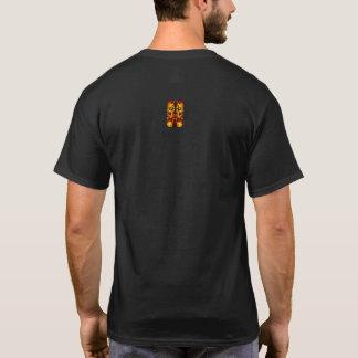 カラフルな落書きパターン Tシャツ