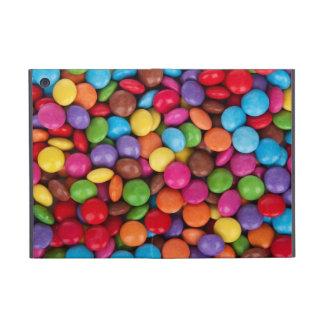 カラフルな虹キャンデーの菓子 iPad MINI ケース