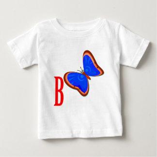 カラフルな蝶 ベビーTシャツ