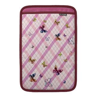 カラフルな蝶 MacBook スリーブ