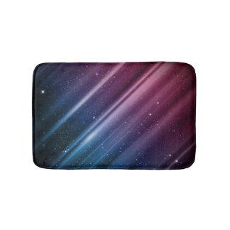 カラフルな銀河系 バスマット