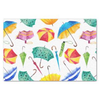 カラフルな雨の日 薄葉紙