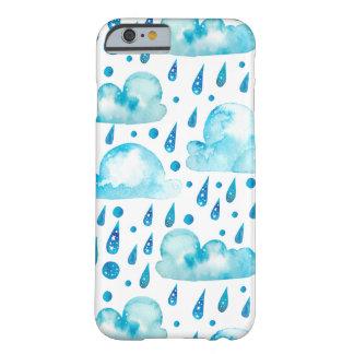 カラフルな雨の日 BARELY THERE iPhone 6 ケース