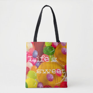 カラフルな飴玉photo||の生命の菓子 トートバッグ