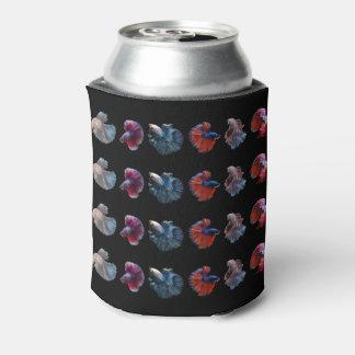 カラフルな魚のカスタムなモノグラムはクーラーできます 缶クーラー