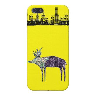 カラフルな鹿 iPhone SE/5/5sケース