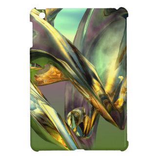カラフルな3Dモデルデザイン iPad MINIケース