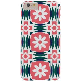 """カラフルな""""花""""の電話箱 BARELY THERE iPhone 6 PLUS ケース"""
