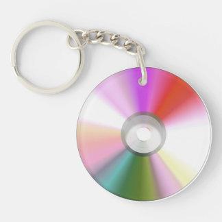 カラフルなCD Keychain キーホルダー