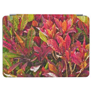 """""""カラフルなCROTON PLANT/RED/GREEN/ORANGE/YELLOW """" iPad AIR カバー"""
