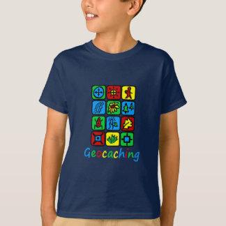 カラフルなGeocaching Tシャツ