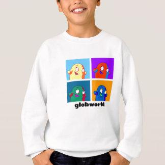 カラフルなGlobby スウェットシャツ