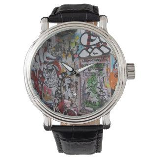 カラフルなGraff 腕時計