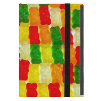 カラフルなgummiくまキャンデーのipadの小型場合 iPad mini ケース