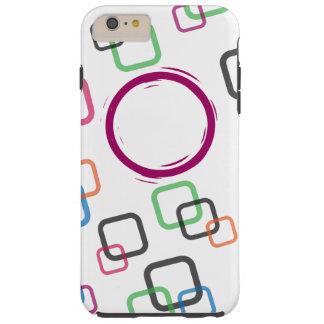 カラフルなiPhone 6/6sの箱 Tough iPhone 6 Plus ケース