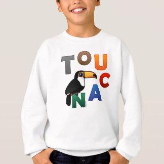 カラフルなToucan スウェットシャツ