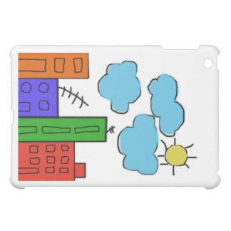 カラフルの家ジャーナルとのipadの小型場合 iPad miniケース