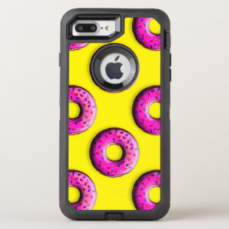 カラフルの小さいドーナツは振りかけます + あなたのアイディア オッターボックスディフェンダーiPhone 8 PLUS/7 PLUSケース