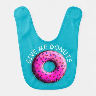カラフルの小さいドーナツは振りかけます + あなたのアイディア ベビービブ