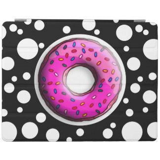 カラフルの小さいドーナツは振りかけます + あなたのアイディア iPadスマートカバー