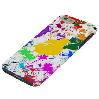 カラフルの抽象芸術のしぶきの芸術 TOUGH iPhone 6 PLUS ケース