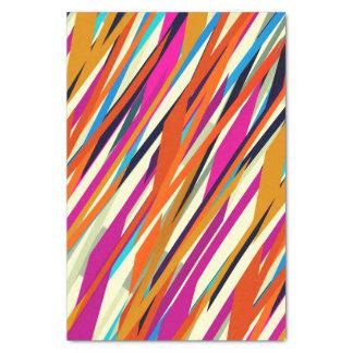 カラフルの抽象芸術の走り書きの芸術のティッシュペーパー 薄葉紙
