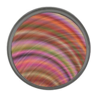 カラフルの抽象芸術 ガンメタルラペルピン