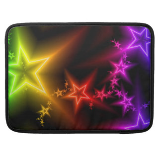 カラフルの星の袖 MacBook PROスリーブ