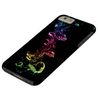 カラフルの泡堅いiPhone 6のプラスの場合 Tough iPhone 6 Plus ケース