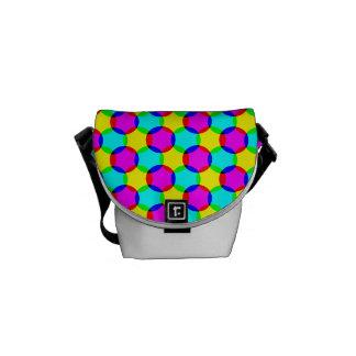 カラフルの点のミニメッセンジャーのバッグ メッセンジャーバッグ