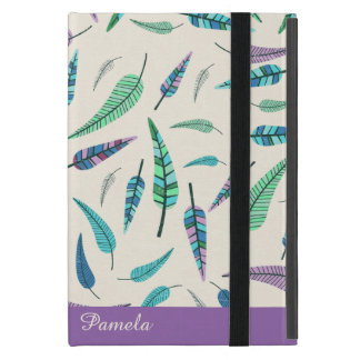 カラフルの羽の習慣のiPad Miniケース iPad Mini ケース