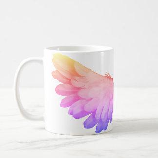 カラフルの翼のマグ コーヒーマグカップ