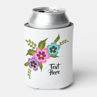 カラフルの花のクーラーボックス 缶クーラー
