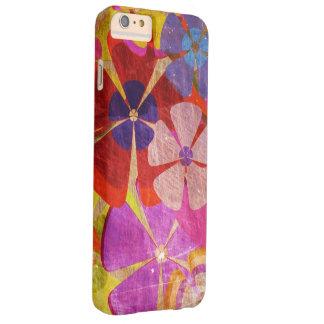 カラフルの花の抽象美術 BARELY THERE iPhone 6 PLUS ケース