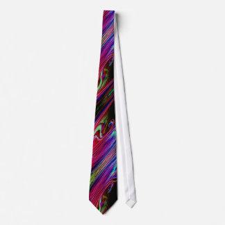 カラフルはデザインのタイに大理石模様をつけました ネクタイ