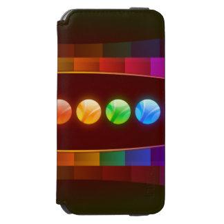 カラフルはパターン場合を抽出します INCIPIO WATSON™ iPhone 5 財布型ケース