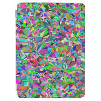 カラフルは小さい同心円の芸術を抽出します iPad AIR カバー