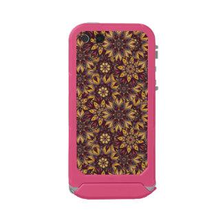 カラフルは民族の花の曼荼羅パターンdeを抽出します incipio ATLAS ID™ iPhone 5S ケース