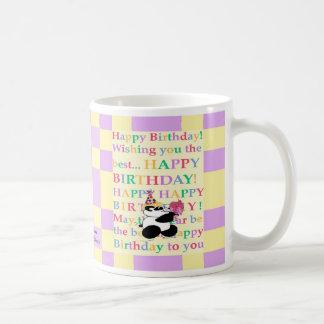 カラフルは「あ色相tiful」の個人に望みます コーヒーマグカップ