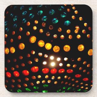 カラフルライト真珠のコルクのコースター コースター