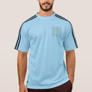 カラフル数パターン Tシャツ