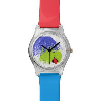 カラフル、ドラゴンの腕時計 腕時計