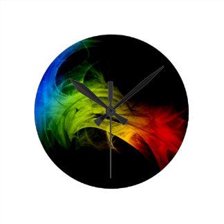 カラフル ラウンド壁時計