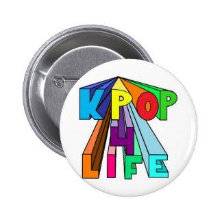 カラフルKPOP 4の生命 5.7CM 丸型バッジ