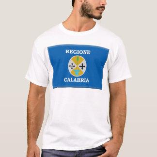 カラブリア(イタリア)の旗 Tシャツ