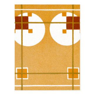 カラメルのアールデコ ポストカード
