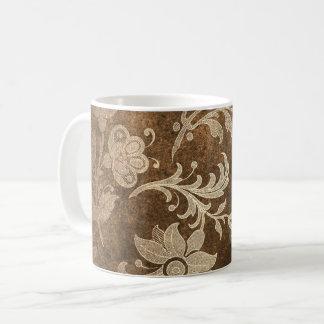 カラメルのクラッシュのビロードの青銅のコーヒー・マグ コーヒーマグカップ